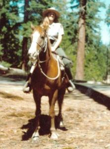 Margien on Horse